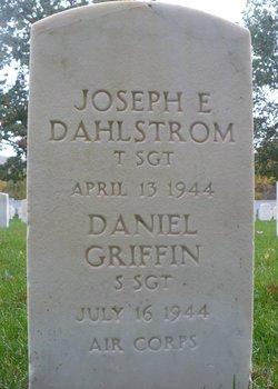 TSGT Joseph E Dahlstrom
