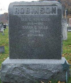 Sarah Clarissa <I>Eells</I> Robinson