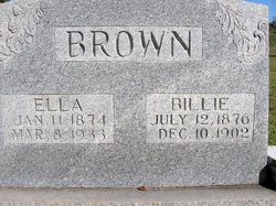 Ella <I>Mangrum</I> Brown