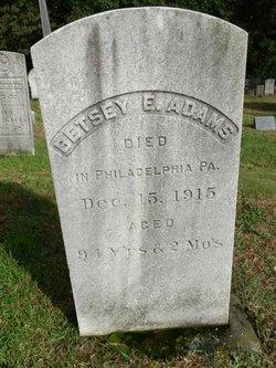 Betsey E Adams