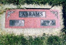 Bessie Edith <I>Cornelius</I> Abrams