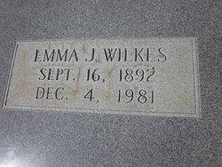 Emma <I>Johnson</I> Wilkes