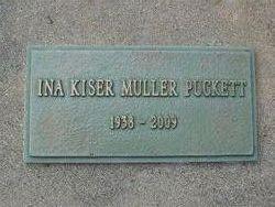 Ina Mae <I>Kiser Muller</I> Puckett