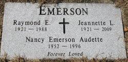Nancy Lee <I>Emerson</I> Audette