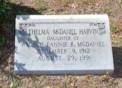 Thelma <I>McDaniel</I> Harvin