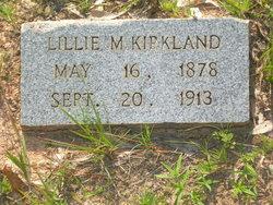 Lillie M Kirkland