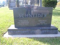 """Fredric George """"Fred"""" Schneider"""
