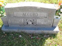 """Susannah """"Sulia"""" <I>Perry</I> Accord"""