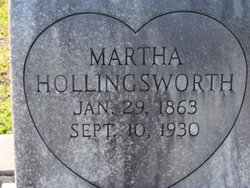 Martha Janie <I>Akins</I> Hollingsworth