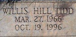 """Willis Hill """"Will"""" Tidd"""