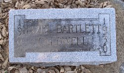 Hazel <I>Bartlett</I> Caldwell