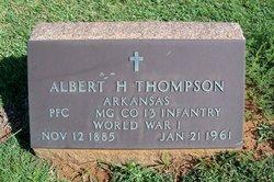Albert Holbert Thompson