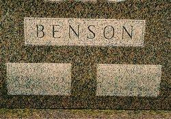 Dora <I>Veden</I> Benson