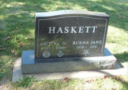 Buena Jane <I>Caskey</I> Haskett