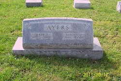 Mary Jane <I>Bernard</I> Ayers