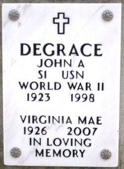 John Arthur Degrace