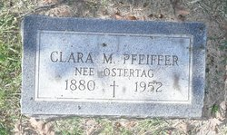 Clara M. <I>Ostertag</I> Pfeiffer