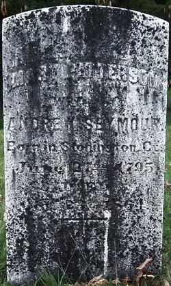 Mary Aletta <I>Patterson</I> Seymour