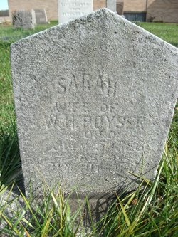 Sarah A <I>Bowman</I> Poyser