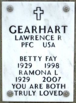 Betty Fay Gearhart