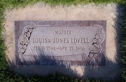 Louisa Hall <I>Jones</I> Lovell
