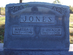 Martha Jane <I>Palmer</I> Jones