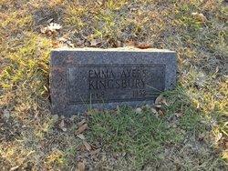 Emma J <I>Ayers</I> Kingsbury