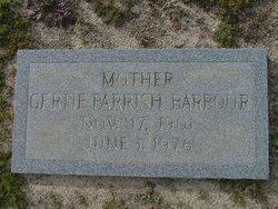 Gertie <I>Parrish</I> Barbour