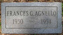 Frances <I>Gerald</I> Agnello