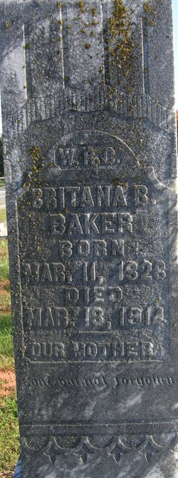 Britana <I>Butterfield</I> Baker