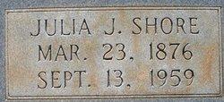 Julia <I>Jones</I> Shore