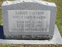 Bammie V Aaron
