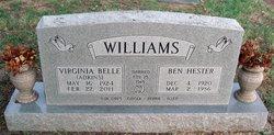 Virginia Belle <I>Adkins</I> Williams