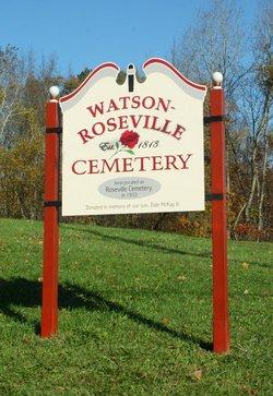 Watson-Roseville Cemetery