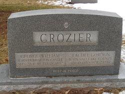 Rachel S <I>Gordon</I> Crozier