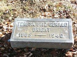 Teresa <I>Fitzgerald</I> Bright