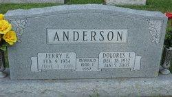 Delores Lillian <I>Bragg</I> Anderson