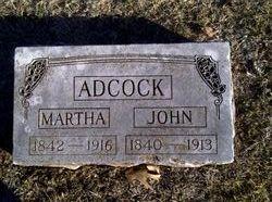 Martha <I>George</I> Adcock