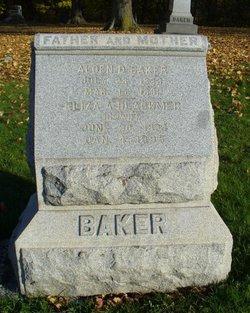 Eliza A <I>Blackmer</I> Baker