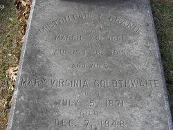 Mary Virginia <I>Goldthwaite</I> LeGrand