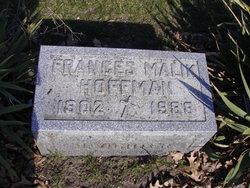Frances <I>Malik</I> Hoffman