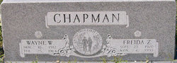 Frieda Z <I>Sharp</I> Chapman