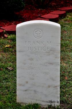 PFC Frank Monroe Justice