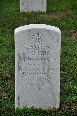 Pvt Gaston Morris