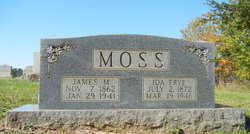 Susan Ida <I>Frye</I> Moss