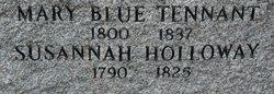 Mary <I>Blue Tennant</I> Donner