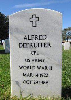 Alfred John Defruiter
