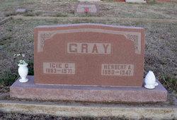 Icie <I>Allen</I> Gray