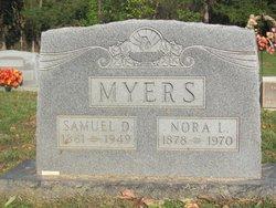 Nora Lee <I>Donovan</I> Myers