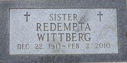 Sr Redempta Wittberg